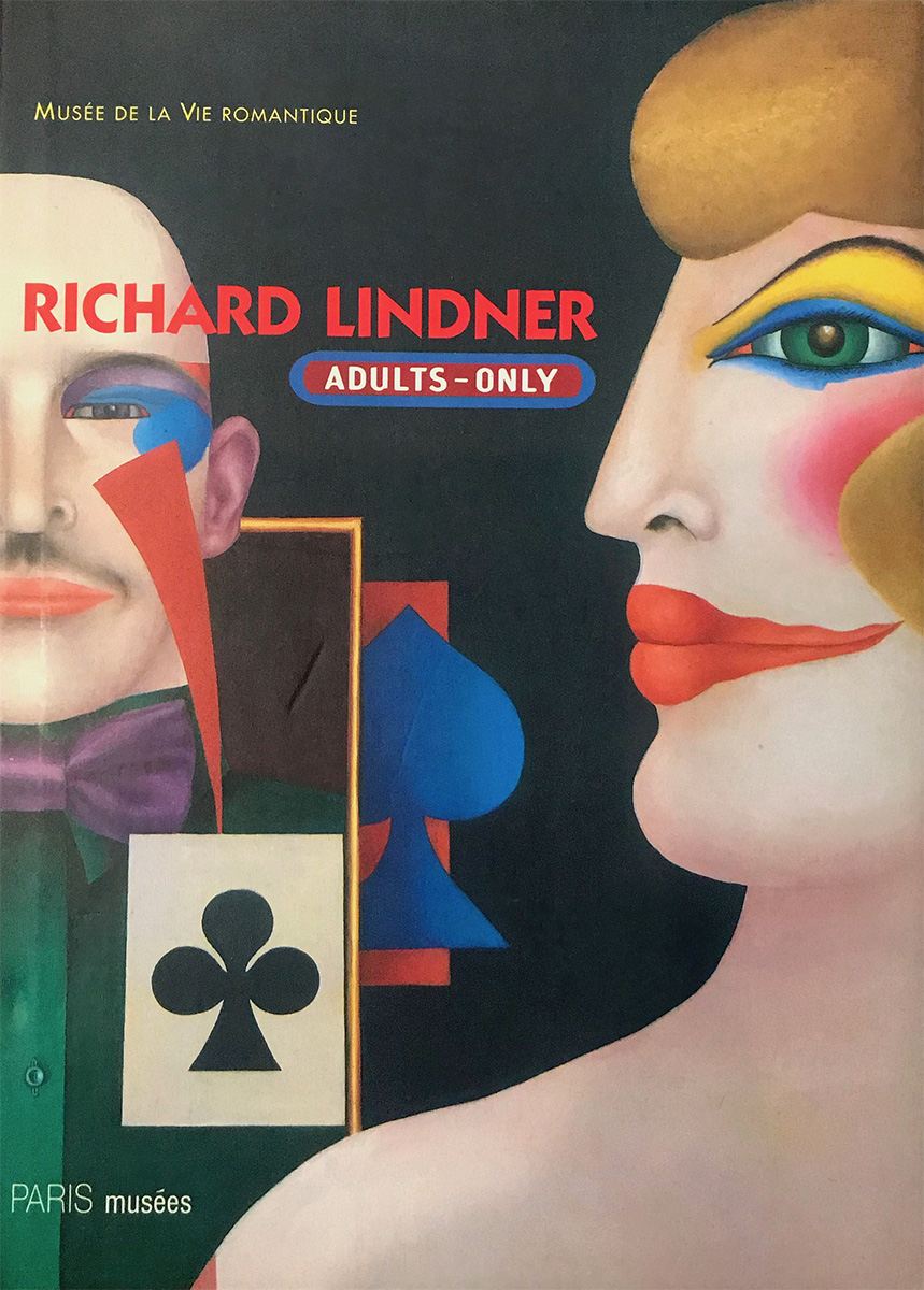 cover daniel marchesseau richard lindner Adults-Only, Paris musées