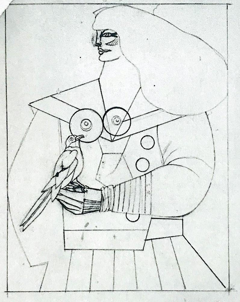 Lithography alain jouffroy richard lindner XXe siècle