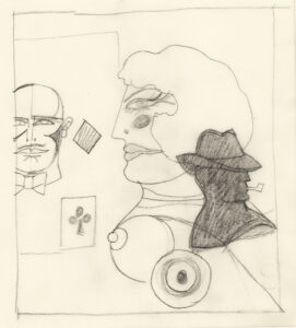 lithography daniel marshesseau richard lindner Adults-Only, Paris musées